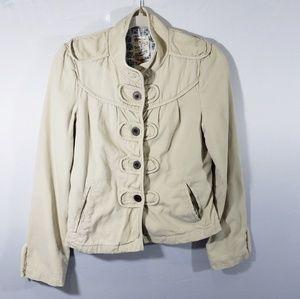 Tulle Military Style Jacket Medium
